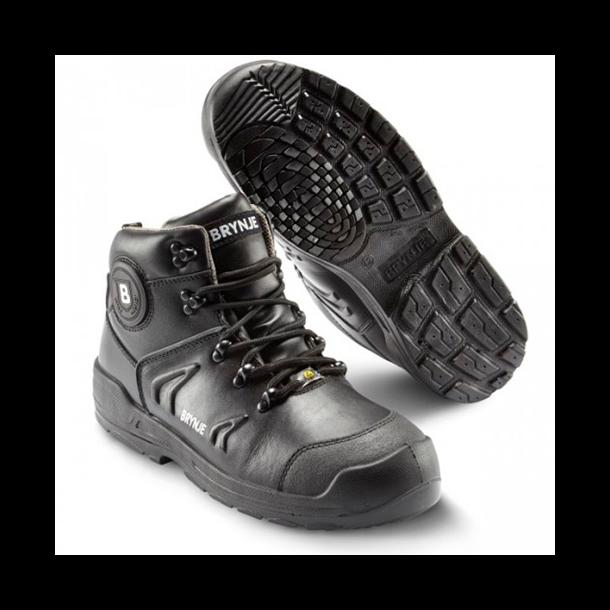 Brynje 338 S3 / HILL støvle m/ snørebånd læder